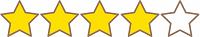 アイコン星4